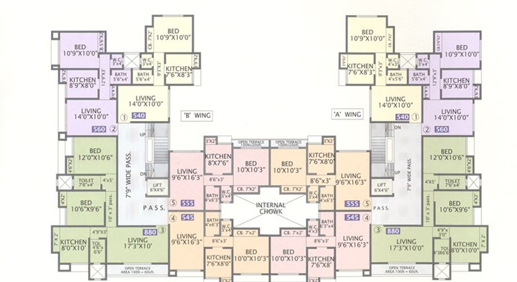 Vegas Plaza floor plan