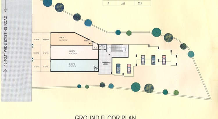 Buena Vista ground floor plan