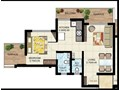 Krushna Kunj 1BHK Type 2 Plan
