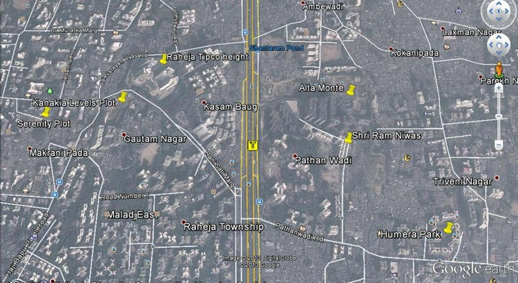 Shree Ram Nivas Google Earth