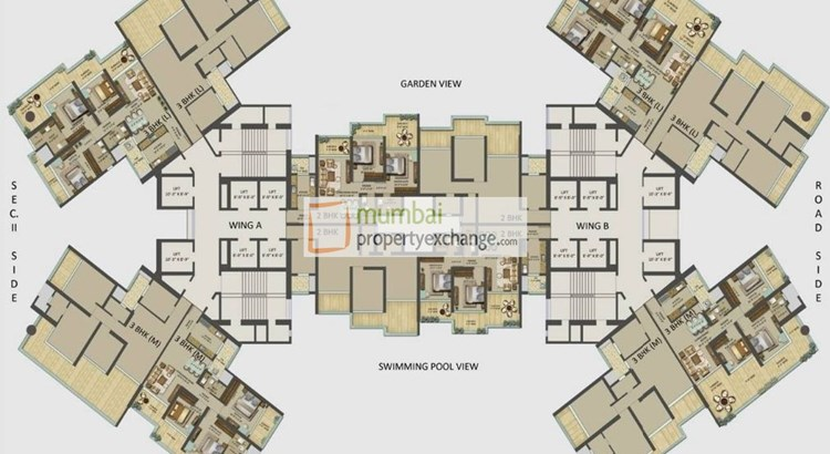 Ariisto Heaven Seista Floor Plan