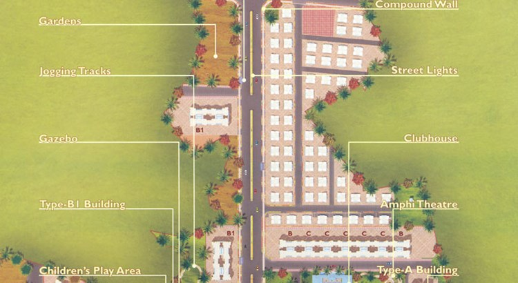 Regency Estate Layout