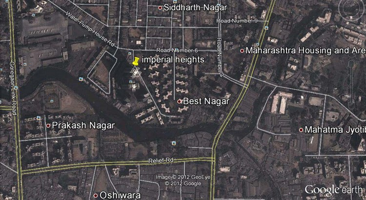 Imperial Heights Google Earth
