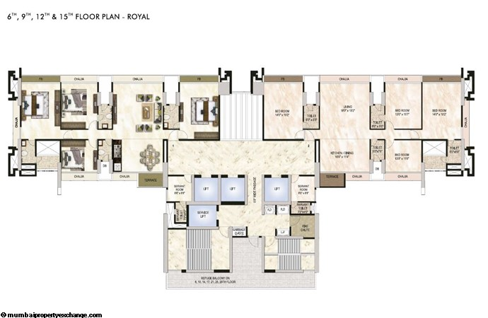 One Akshar One Akshar Floor Plan 1