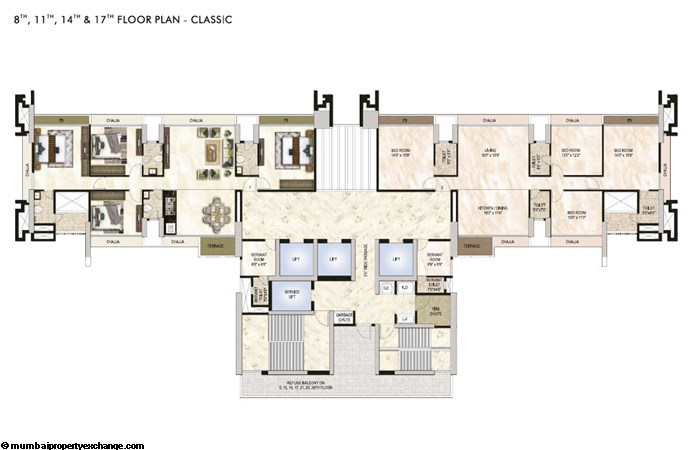 One Akshar One Akshar Floor Plan 3