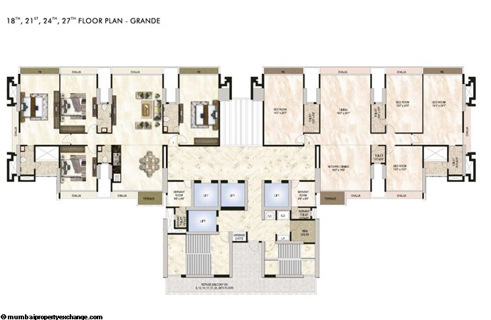 One Akshar One Akshar Floor Plan 4