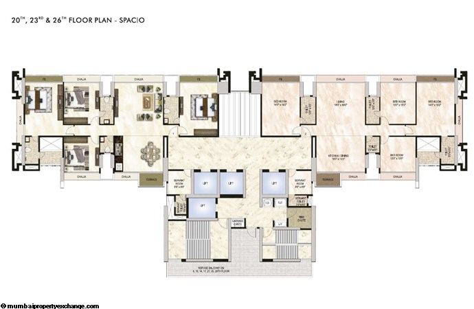 One Akshar One Akshar Floor Plan 6