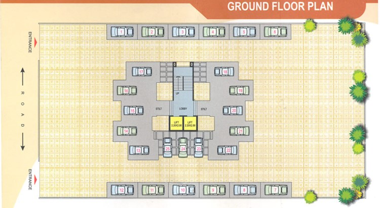 Lotus Ground Floor Plan