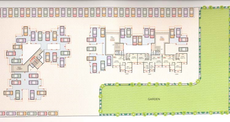 Neelkanth Park Ground floor plan