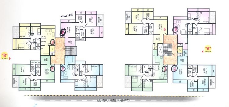Neelkanth Darshan 7 Floor Plan