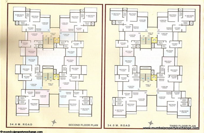 Balaji Darshan Floor Plan