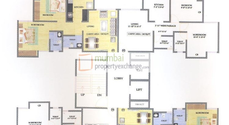 Kabra Galaxy Floor Plan