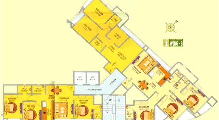 Bhakti Heights Floor Plan I