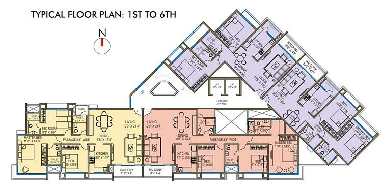 Runwal Grand Floor Plan I