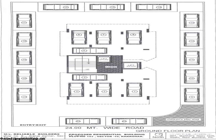 Balaji Amrut Ground Floor Plan