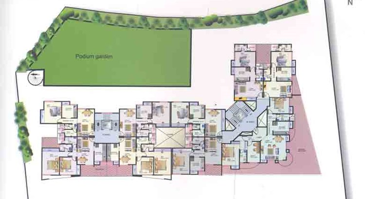 Atlantis Apartment 1st Floor Plan