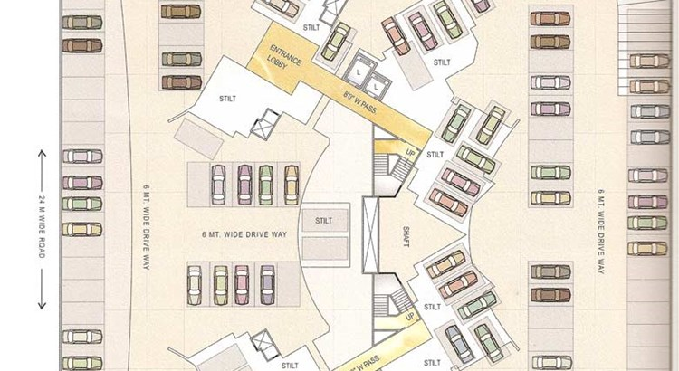 Arihant Aradhana Ground Floor Plan
