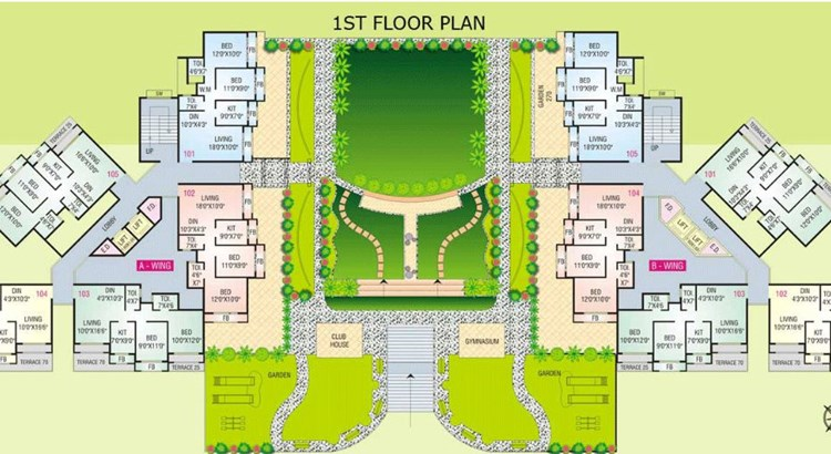 Shelter Park Floor Plan II