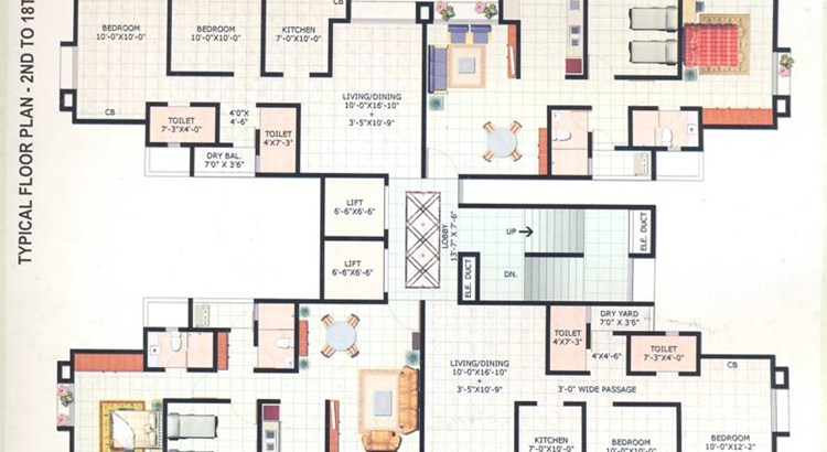 Harmony Horizons Floor Plan of 2 to 18