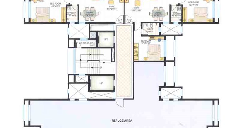 Fountain Heights Floor Plan 1