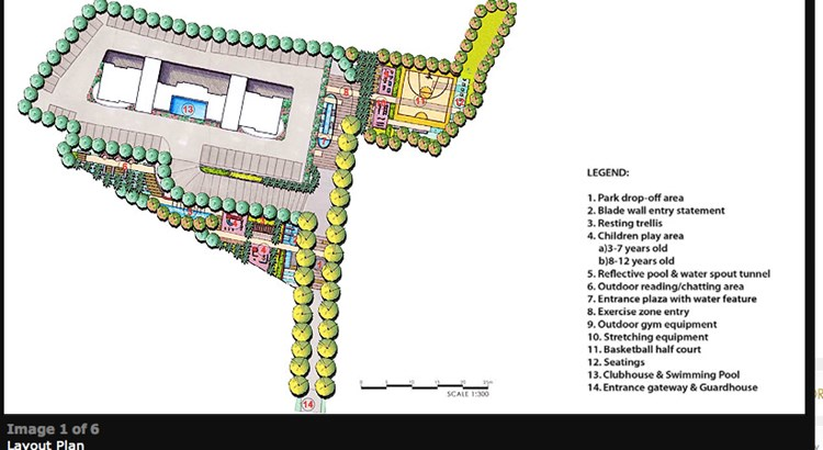 Lodha Imperia  Layout Plan