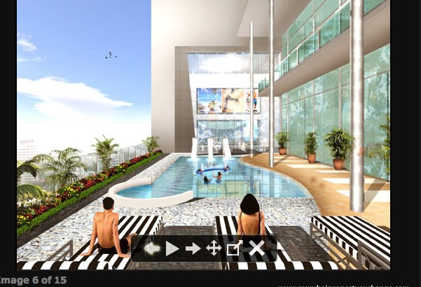 Lodha Imperia  Swimming Pool Area