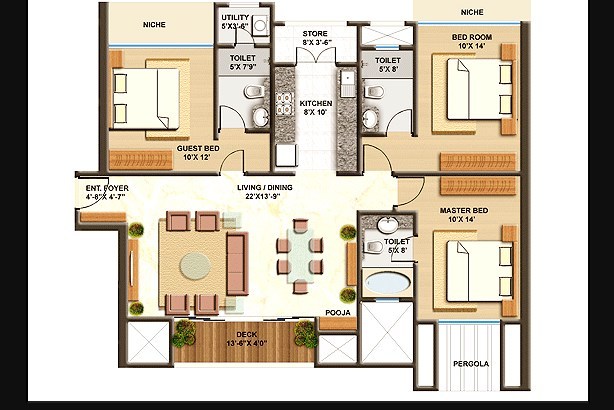 Lodha Imperia  floor plan