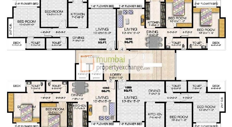 Gaurav Excellency Floor Plan I