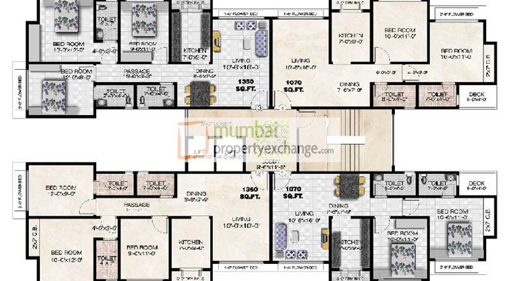 Gaurav Excellency Floor Plan II