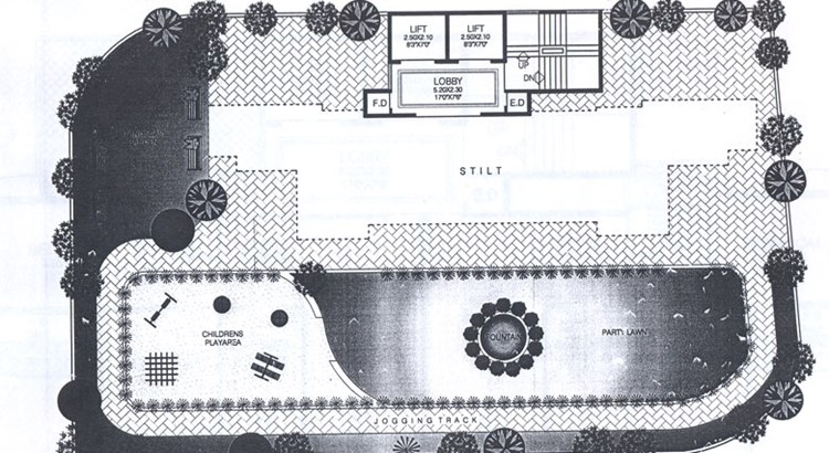 Bhoomi Parth Second Floor Plan
