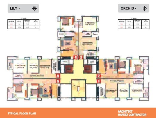 Mantri Park Floor Plan I