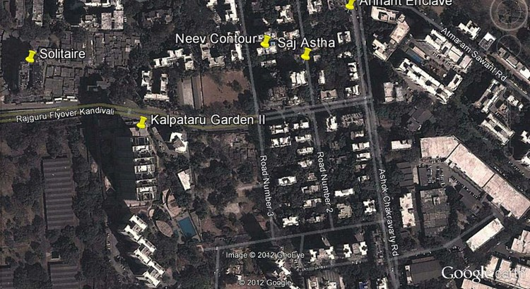 Kalpataru Gardens Phase II Google Earth