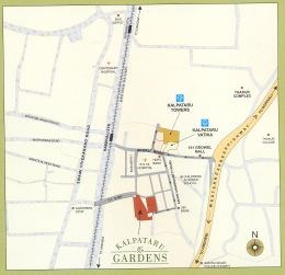 Kalpataru Gardens Phase II location