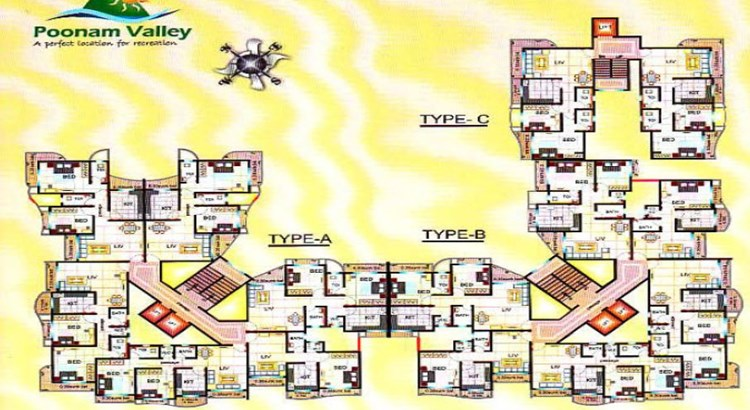 Poonam Valley Floor Plan
