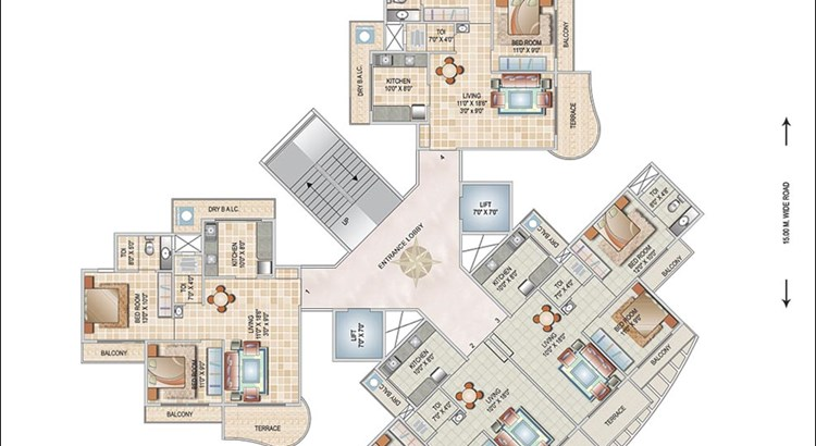 Monarch Orchid Floor Plan III