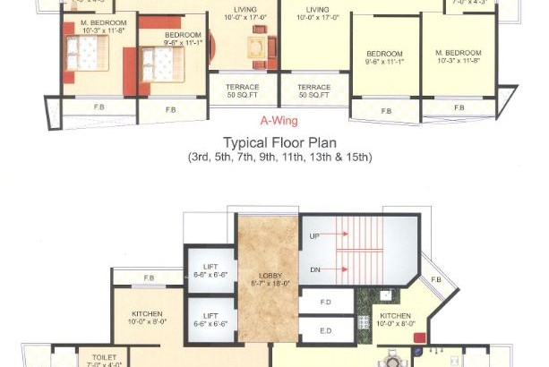 Sadguru Platinum Floor Plan