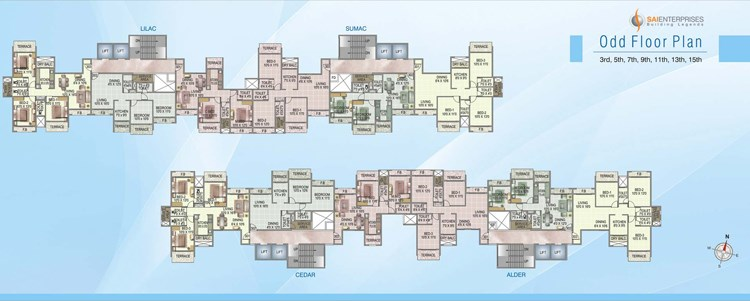 Rosewood Heights Floor Plan I