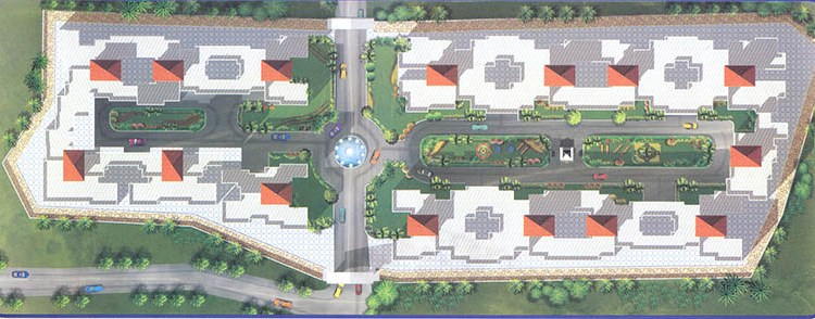 Balaji Residency Lay Out