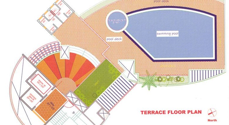Mahaavir Ratan Terrace Floor Plan