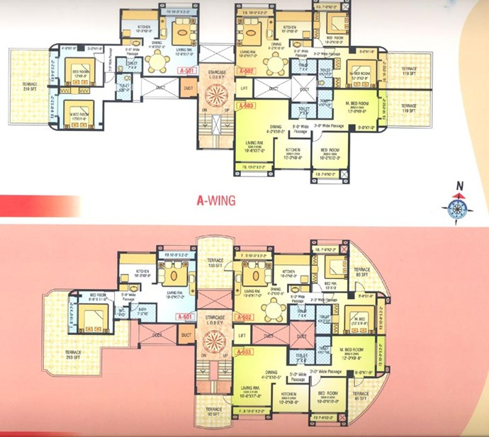 5 Floor Plan A Wing