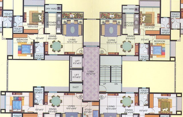 Veena Saaz Floor Plan