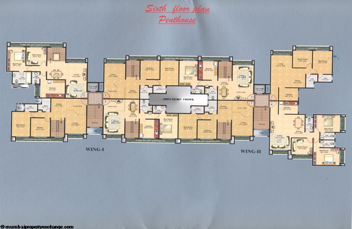 Sunshine Tower Seventh Floor Plan