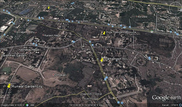 Prathamesh Hills Google Earth