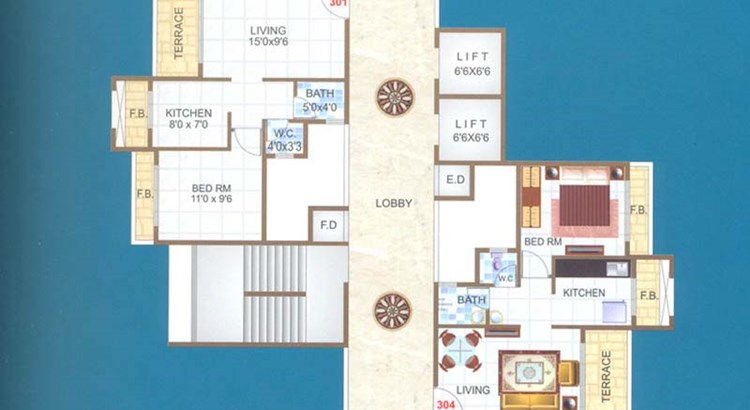 Balaji Avenue Odd Floor Plan