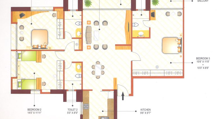 Ashok Tower Floor Plan IV