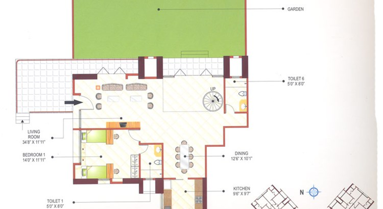 Ashok Towers Floor Plan VII