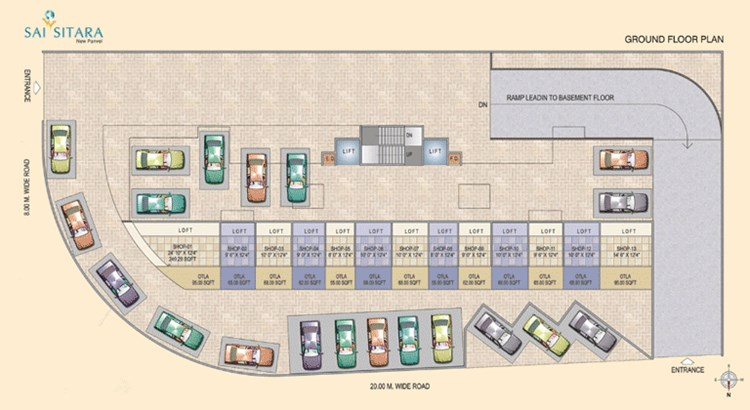 Sai Sitara Ground Floor Plan
