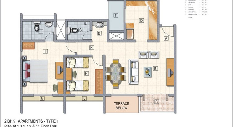 El Castillo Floor Plan III