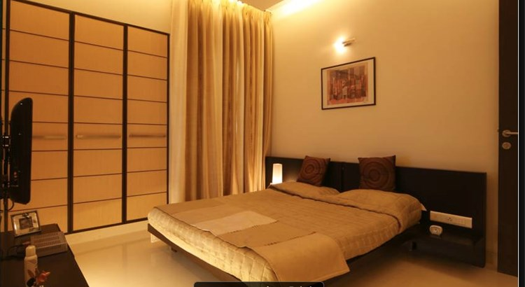 Lodha Luxuria Master Bedroom