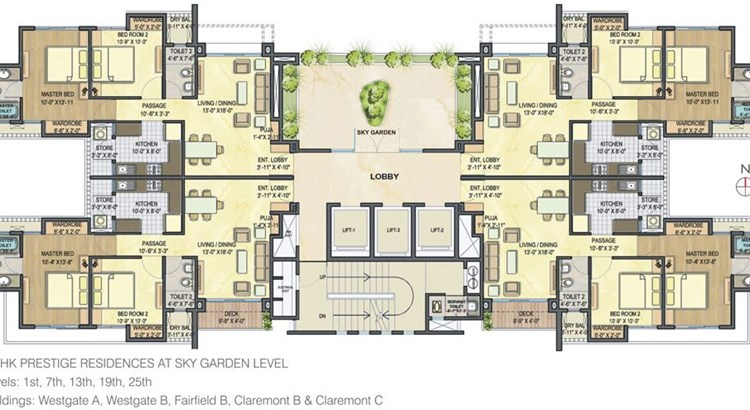 Lodha Luxuria floor plan 5